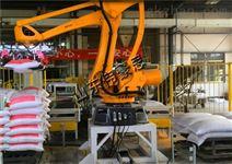 粮食機器人码垛 面粉码垛机械手设备直销