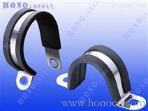 塑料波纹软管R型管夹 尼龙软管U型固定夹