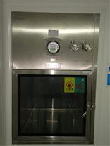 厂家供应实验室配套百级层流风淋传递窗定制