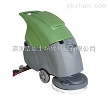 深圳手推式洗地机报价/平湖工厂手推式洗地机