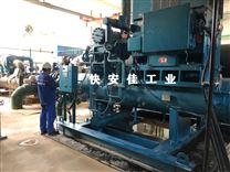 荣成约克SGC2817螺杆冷水机冷凝压力高维修