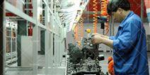 汽车发动机生产线