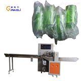 KL-350X全自动枕式防刮花瓶子自动包装机械