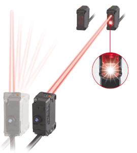對準指示燈的出現使長距離傳感器的光軸對準變得非常簡便。