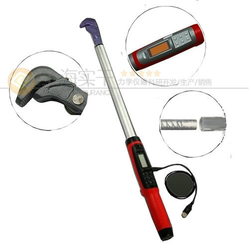 建筑钢筋检测用80-400N.M数显扭力扳手