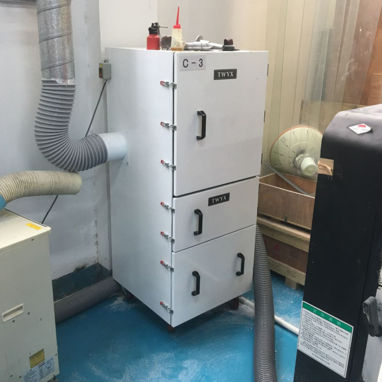 抛光打磨粉尘收集 工业除尘器 表面抛光除锈打磨脉冲工业除尘器示例图9