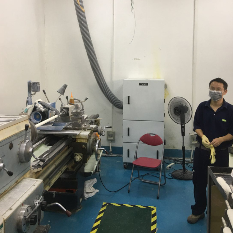 抛光打磨粉尘收集 工业除尘器 表面抛光除锈打磨脉冲工业除尘器示例图11