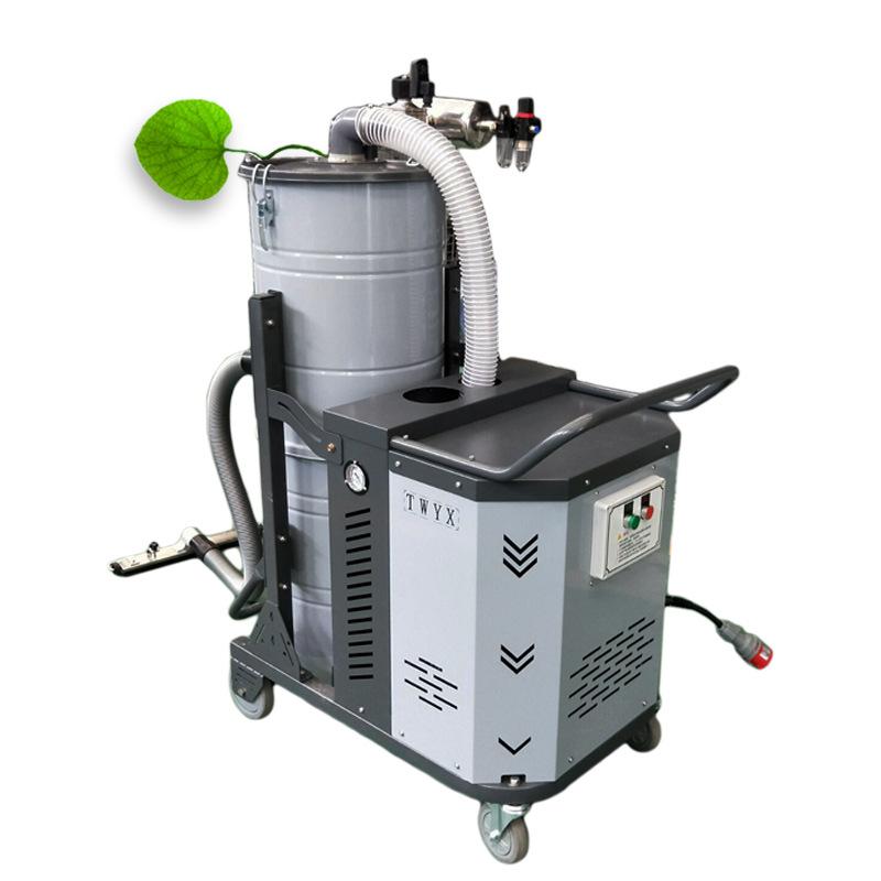 移动式工业吸尘器 车间地面吸尘器 吸铝屑铁屑塑料颗粒吸尘器示例图5