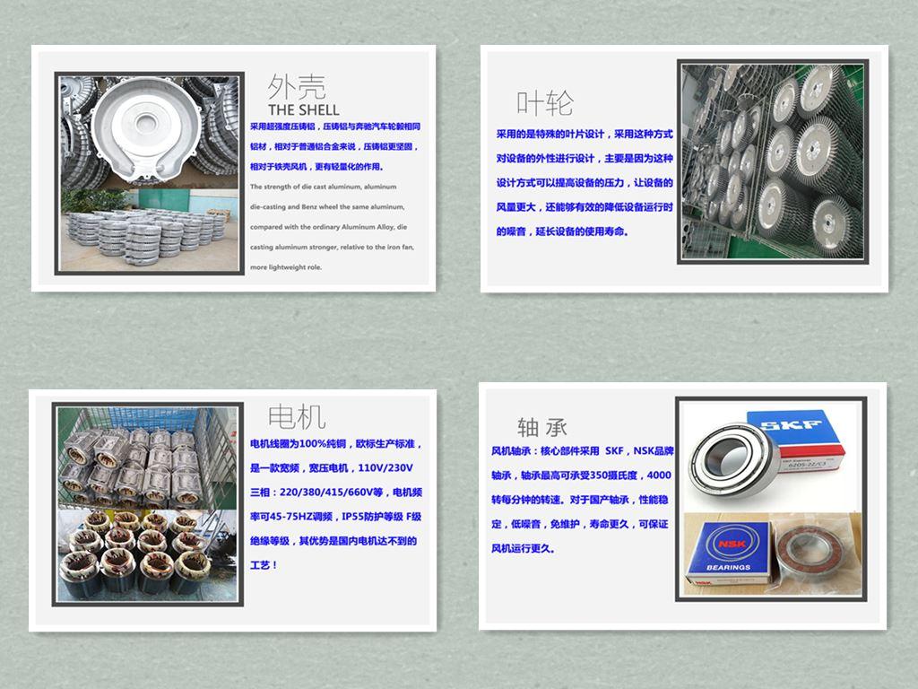 抽真空高压鼓风机,漩涡高压鼓风机,高压鼓风机厂家示例图3