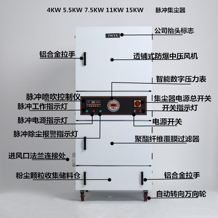 磨床吸尘器 平面工具磨床吸尘器 高压大吸力磨床吸尘器包邮示例图35