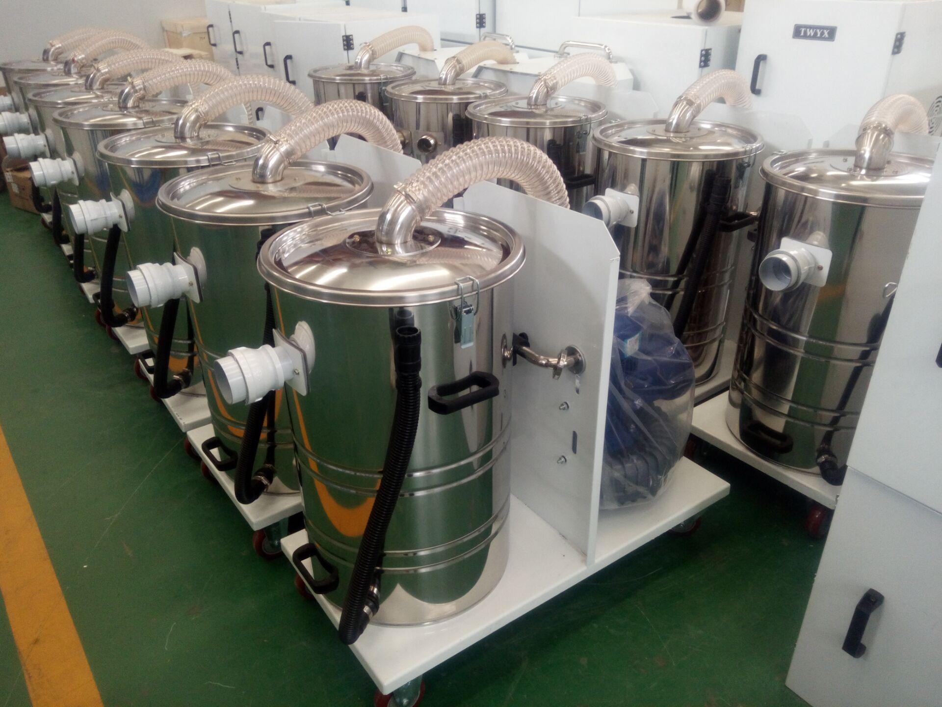 生产厂家工业移动式吸尘器 集尘机 固定式吸尘器 双桶吸尘器示例图17