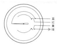 耐震电接点双金属温度计接线图