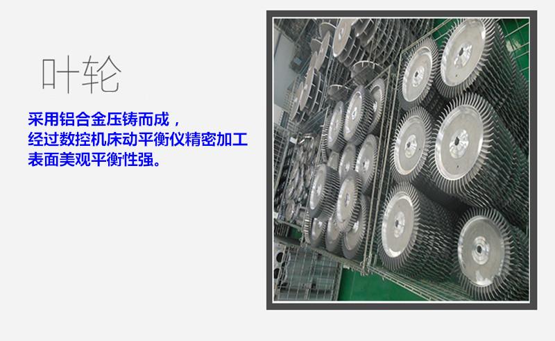 CX-100  1.5KW全风透浦式中压风机 气体输送送风中压鼓风机示例图22