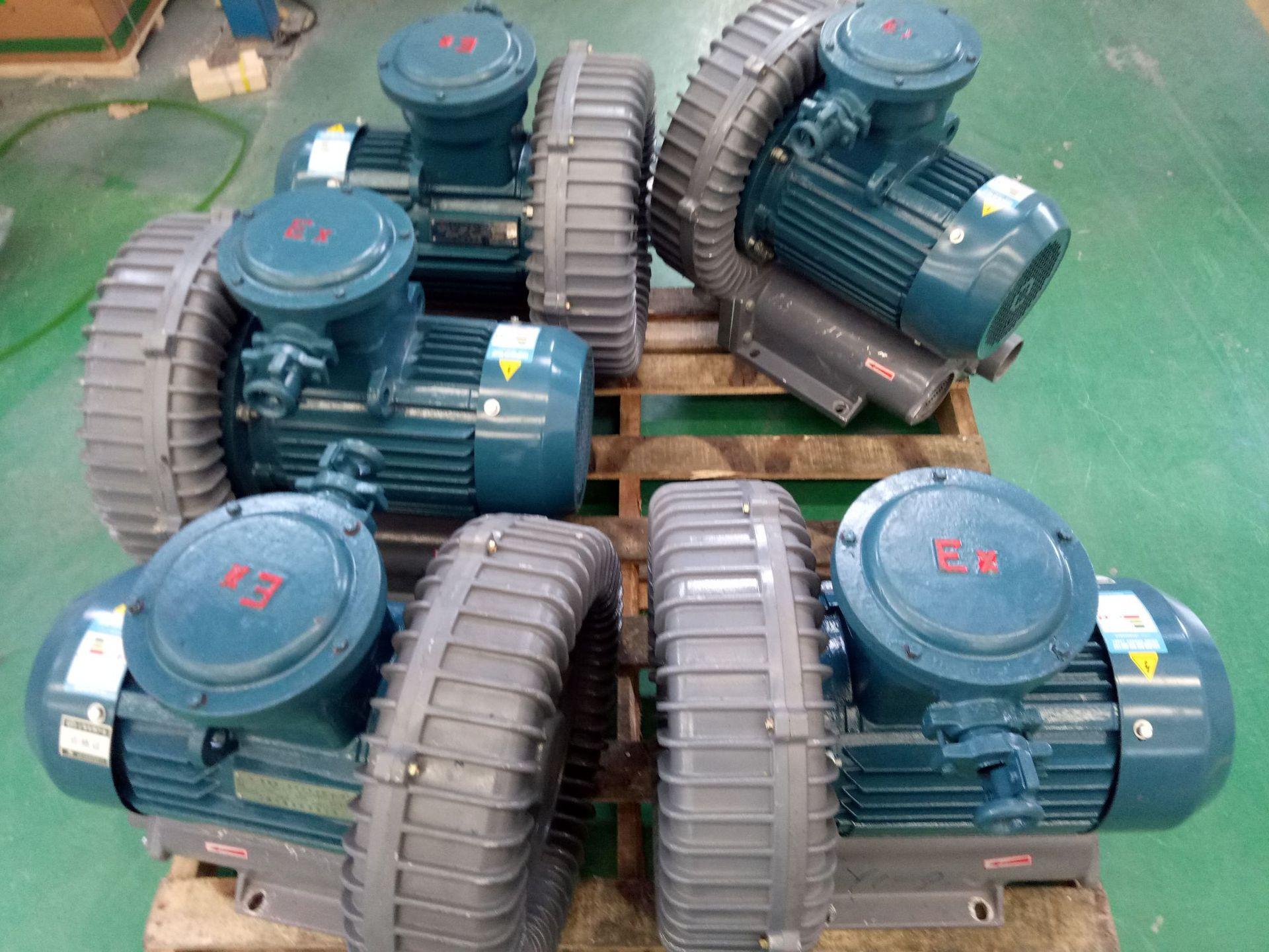 哈尔滨油气输送防爆高压风机 FB-25油气输送防爆高压风机 厂家直销防爆风机示例图11