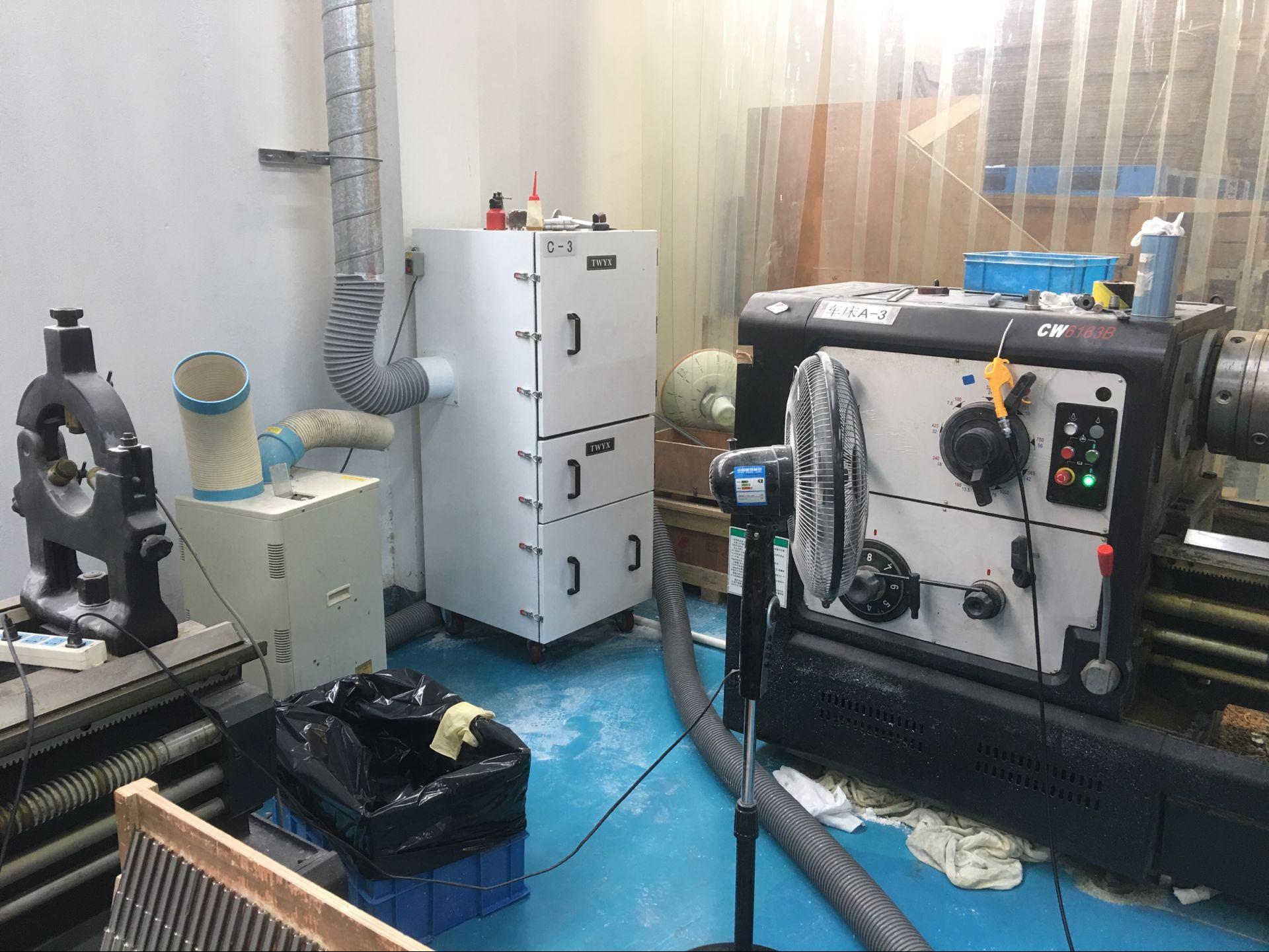 磨床吸尘器 工业集尘机 铁屑粉尘 残渣 收集工业除尘器示例图7