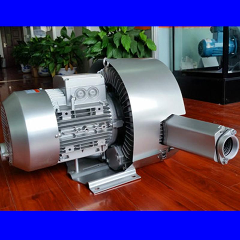 双段高压风机 双叶轮旋涡高压鼓风机 厂家漩涡高压气泵示例图4