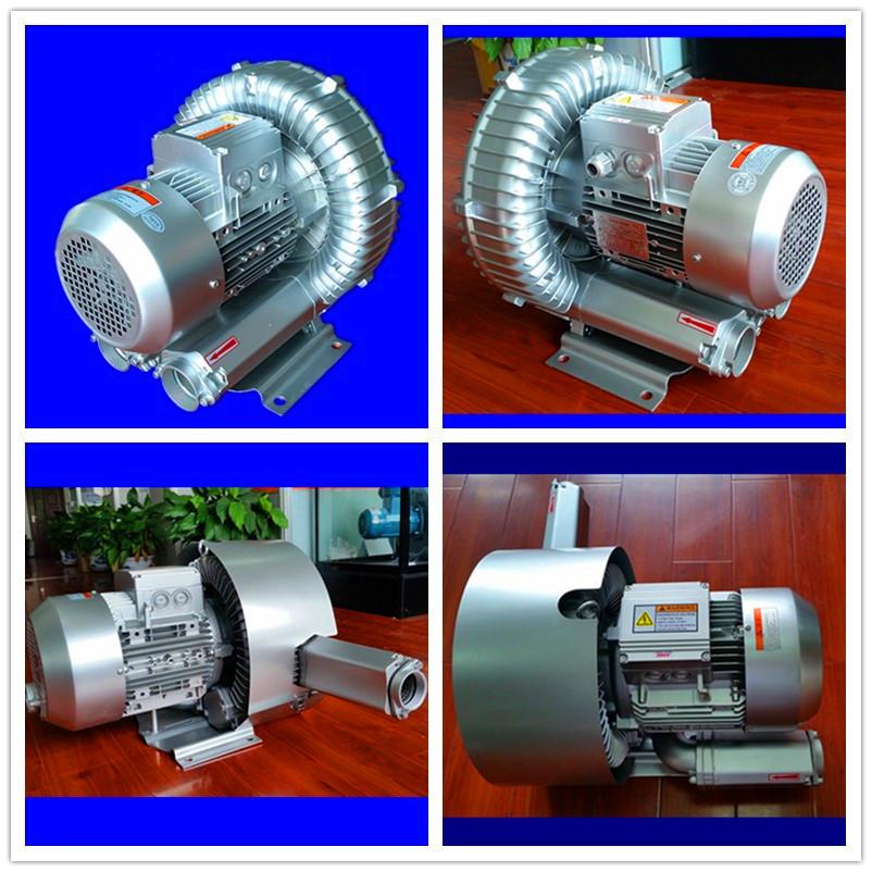 双段高压风机 双叶轮旋涡高压鼓风机 厂家漩涡高压气泵示例图5