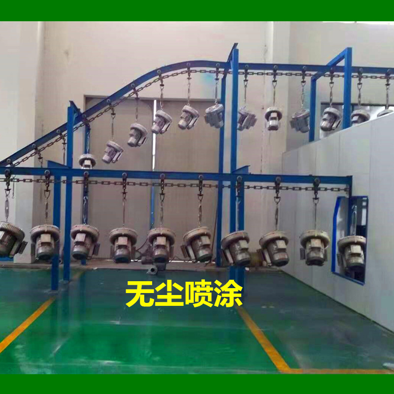 双段高压风机 双叶轮旋涡高压鼓风机 厂家直销漩涡高压气泵示例图8