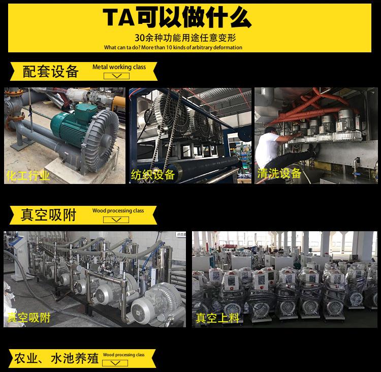 厂家 YX-71D-2高压旋涡气泵 2.2KW漩涡式高压气泵示例图4
