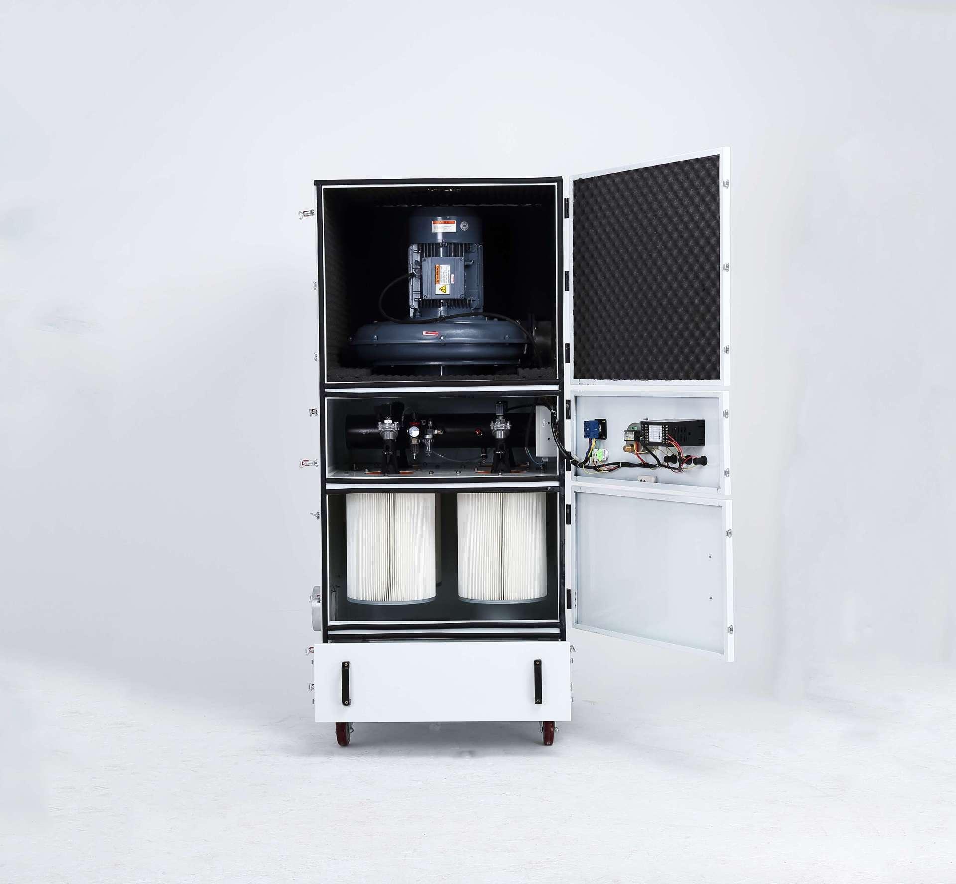 厂家 脉冲集尘机 移动柜式磨床脉冲集尘机生产厂家示例图4