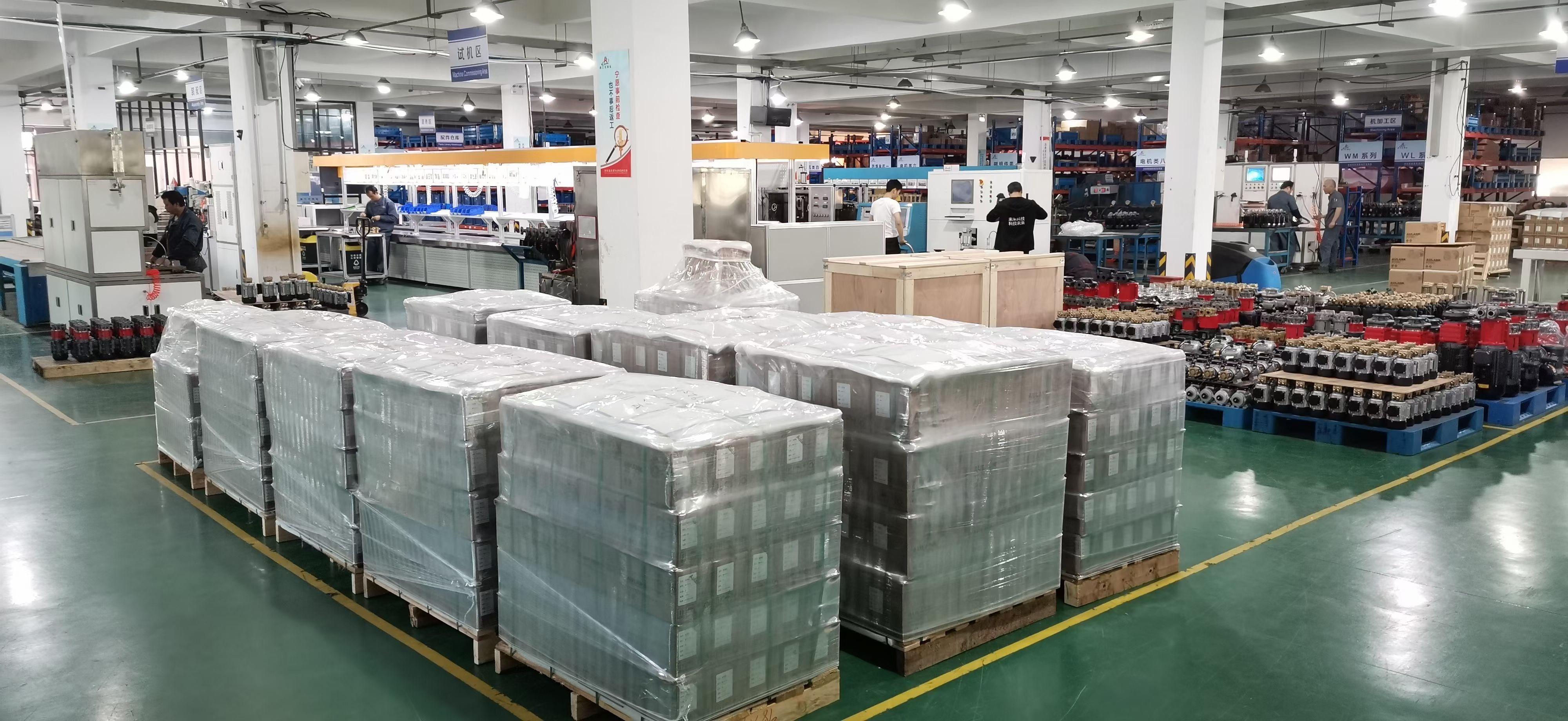 奧蘭克泵業生產出貨再創新高
